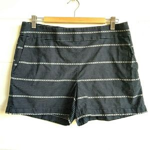 Ann Taylor Loft Striped Shorts